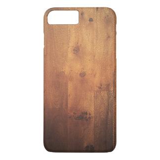 Coque iPhone 7 Plus Motif en bois de regard de fibre de bois en bois