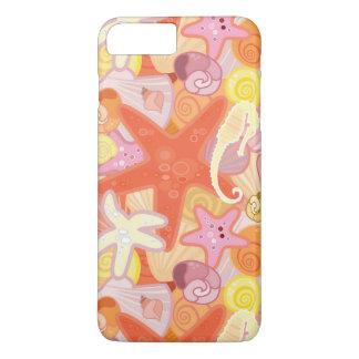 Coque iPhone 7 Plus Motif en pastel de créature de mer