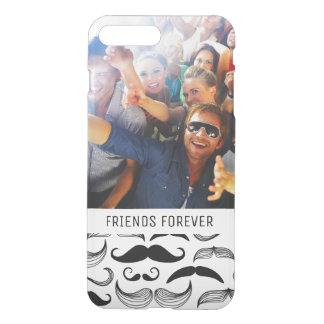Coque iPhone 7 Plus Motif fait sur commande 2 de moustache de photo et
