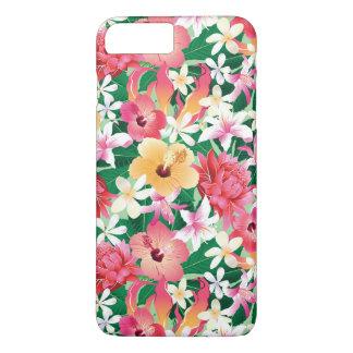 Coque iPhone 7 Plus Motif floral 2 de ketmie tropicale