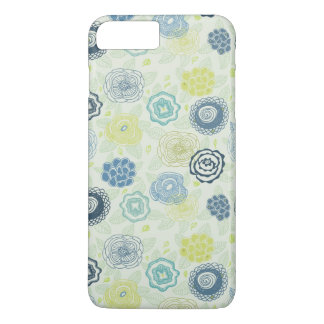 Coque iPhone 7 Plus Motif floral élégant avec les fleurs mignonnes