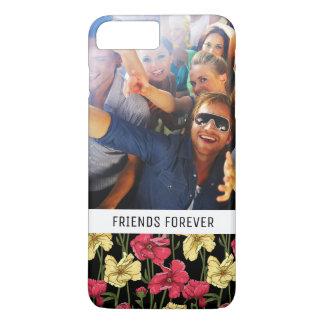 Coque iPhone 7 Plus Motif floral élégant fait sur commande 2 de photo