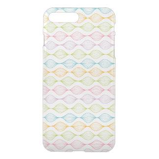 Coque iPhone 7 Plus Motif horizontal coloré d'ogee