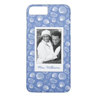 Coque iPhone 7 Plus Motif impertinent | de coquillage votre photo et