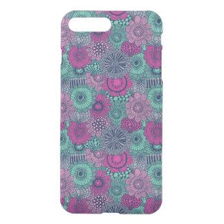 Coque iPhone 7 Plus Motif lumineux élégant des fleurs magnifiques