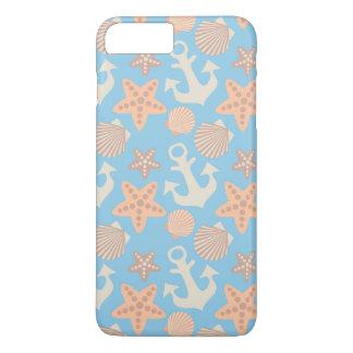 Coque iPhone 7 Plus Motif nautique en pastel