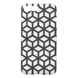 Coque iPhone 7 Plus Motif noir et blanc de cube