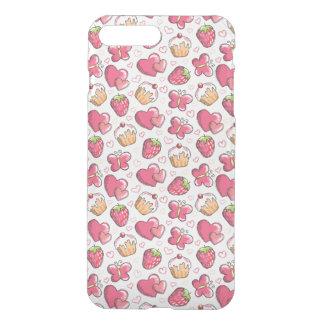 Coque iPhone 7 Plus motif romantique de nourriture