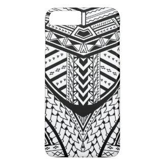 Coque iPhone 7 Plus Motif tribal Samoan détaillé de tatouage