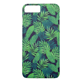 Coque iPhone 7 Plus Motif tropical de feuille