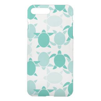Coque iPhone 7 Plus Motif turquoise de tortue