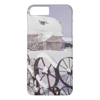 Coque iPhone 7 Plus Na, Etats-Unis, Washington, Uniontown, grange