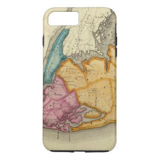 Coque iPhone 7 Plus New York, Queens, rois, comtés de Richmond