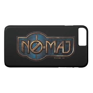 Coque iPhone 7 Plus NO--Commandant Badge d'or et de marbre
