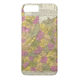 Coque iPhone 7 Plus Nouvelle carte de la Virginie