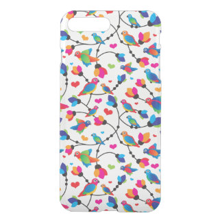 Coque iPhone 7 Plus oiseau coloré mignon de perroquet