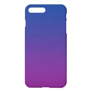 Coque iPhone 7 Plus Ombre bleu-foncé et pourpre