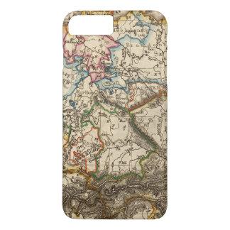 Coque iPhone 7 Plus Oriental - carte européenne