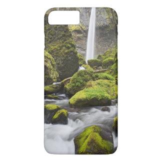 Coque iPhone 7 Plus OU, gorge du fleuve Columbia, automnes d'Elowah et