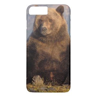 Coque iPhone 7 Plus ours brun, arctos d'Ursus, ours gris, Ursus