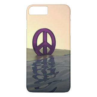 Coque iPhone 7 Plus Paix sur une plage