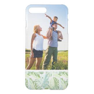 Coque iPhone 7 Plus Palmettes tropicales en pastel de photo faite sur