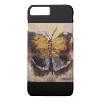 Coque iPhone 7 Plus Papillon jaune