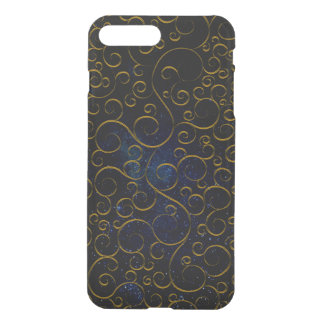 Coque iPhone 7 Plus pattern.GOLD gothique