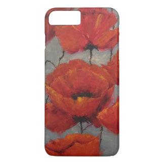 Coque iPhone 7 Plus Pavots rouges