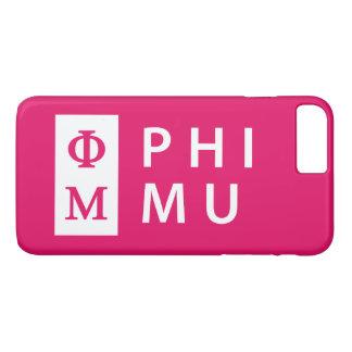 Coque iPhone 7 Plus Phi MU empilé