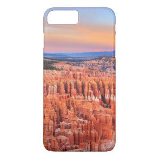 Coque iPhone 7 Plus Photo de coucher du soleil de désert de canyon de