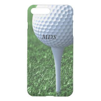 Coque iPhone 7 Plus Piquer outre du monogramme de boule de golf clair