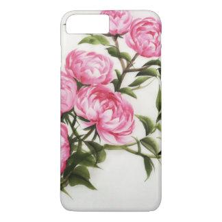Coque iPhone 7 Plus Pivoines