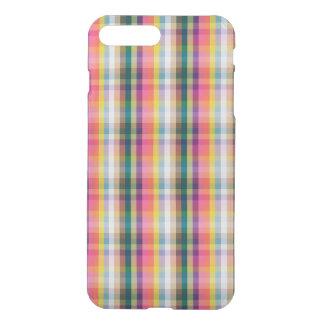 Coque iPhone 7 Plus Plaid écossais abstrait