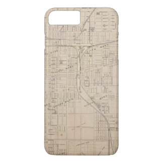 Coque iPhone 7 Plus Plan de Terre Haute, Vigo Co