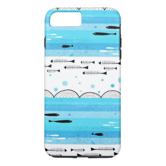 Coque iPhone 7 Plus Poissons en mer