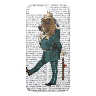Coque iPhone 7 Plus Policier de Basset Hound