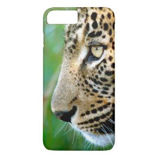 Coque iPhone 7 Plus Portrait de léopard (Panthera Pardus)