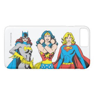 Coque iPhone 7 Plus Pose de Superheroines