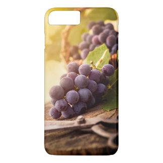 Coque iPhone 7 Plus Raisins récemment récoltés