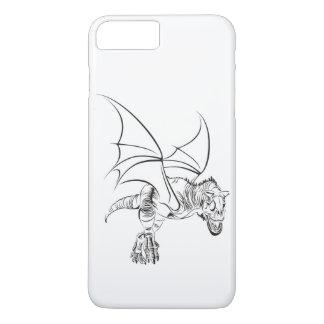 Coque iPhone 7 Plus Raptor à ailes/tribal