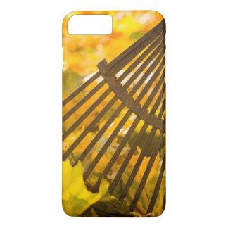 Coque iPhone 7 Plus Râteau et feuilles