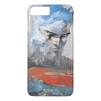 Coque iPhone 7 Plus Regard fixe de Superman