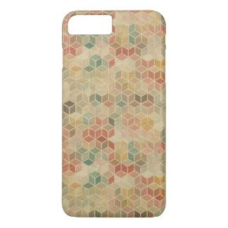 Coque iPhone 7 Plus Rétro motif géométrique 5