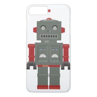 Coque iPhone 7 Plus Robot vintage