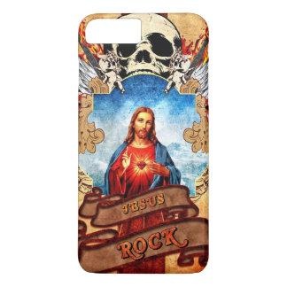 Coque iPhone 7 Plus Roche drôle de Jésus