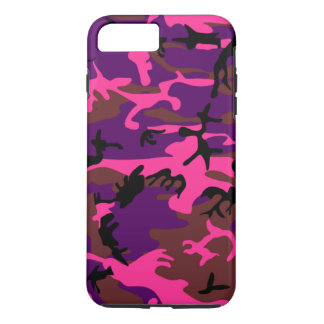 Coque iPhone 7 Plus Roses indien Camo