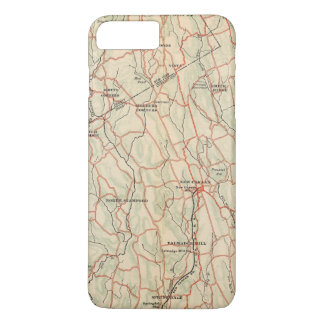 Coque iPhone 7 Plus Routes de bicyclette à New York et Connecticut 5
