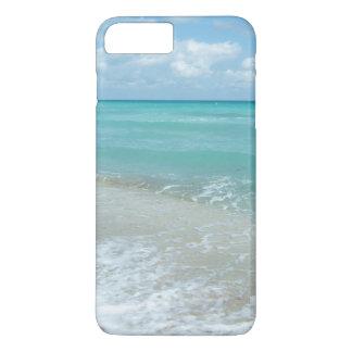 Coque iPhone 7 Plus Scène bleue de détente de nature de paysage