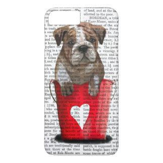 Coque iPhone 7 Plus Seau de bouledogue de rouge d'amour
